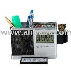calendar pen holder with calculator, Multi functional Calendar Pen holder,promotion gifts