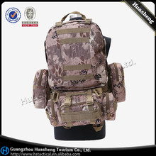 mountaineering camping hiking large 50L asssault tactical backpack