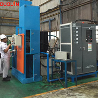 Duolin 200KW gear and shaft flameless and torchless induction hardening heater