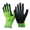 SRSAFETY 13G knitted cut resistant gloves/Hi-Viz green Anti-cut industrial gloves