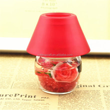 mini glass candle lamps aromatherapy lamp with fragrance