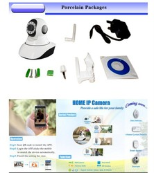Support Mobile phone two way audio IR LED 10PCS 360 degree cctv camera