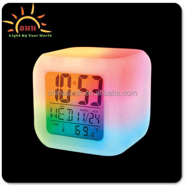 OEM/ODM Pretty LED alarm clock