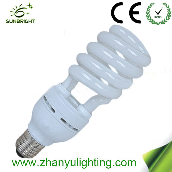 New arrival Half spiral energy saving lamp T4 15w e27 made in China spiral energy saver