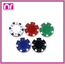 Customized Clay Poker Chips without Par Value Jetton
