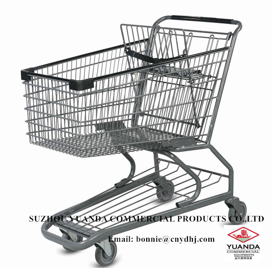 Plastic Shopping Trolley/ hand shopping cart