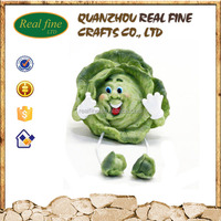 Resin Mini Vegetable, Resin Food Model for Promotion
