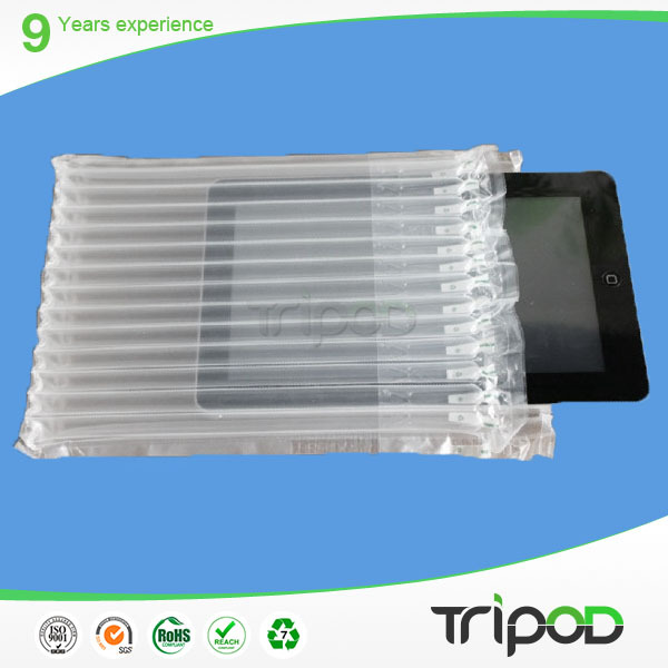 Tablet computer plastic air bag for protection