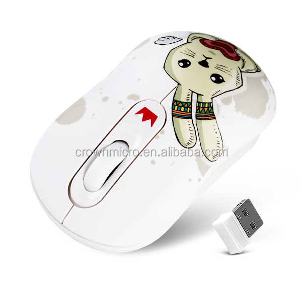 3D Mini 2.4G Advanced Colored 1000 DPI Optical USB Wireless Mouse