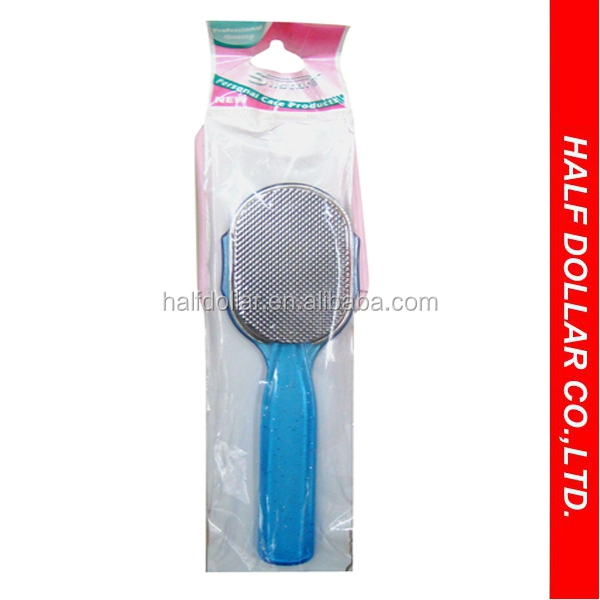 Best Plastic Handle Metal Foot File Stainless Foot File For One Dollar Item