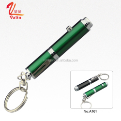 2016 Popular Novelty Mini-size Keychain Ballpoint Pen with LED Light