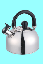 High quality whistle single and double bottom stainless steel tea coffee kettle