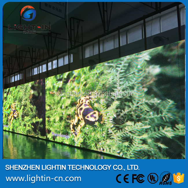 Full color p10 waterproof outdoor programmable led billboard