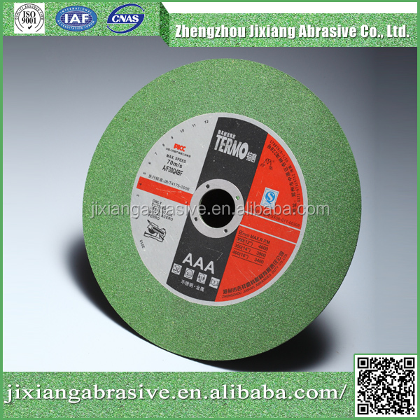 14inch abra cutting disc and grinding wheel with abrasive stainless
