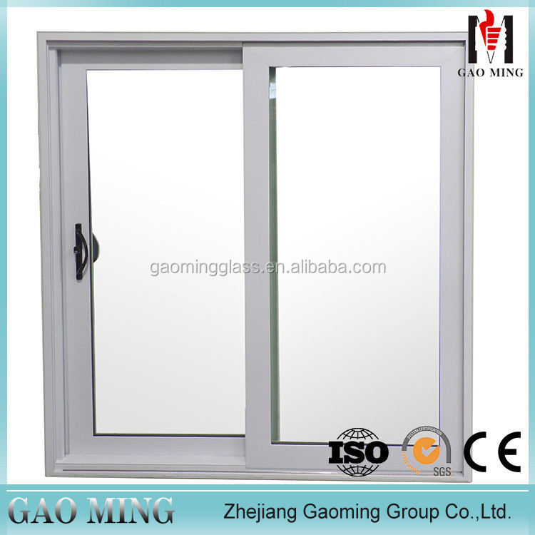 Size Customized Frosted Glass Sliding Reception Window
