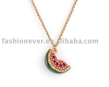 Scrumptious Watermelon Charm Pendant Fashion Fruit Pendant Jewelry