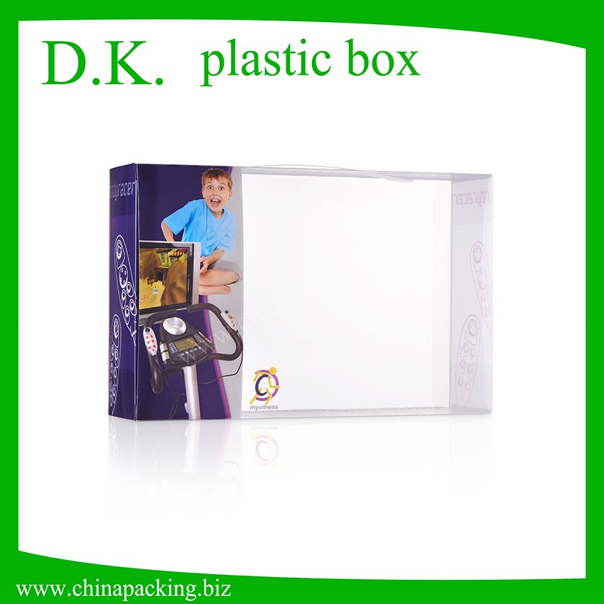 Hot Selling Recycled Printing Foldable Electrical Plastic Box Cover