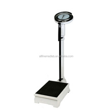 top quality 120KG With Height Meter Analog Weighing Scale