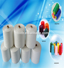 factory price readymade polyester spun yarn in india