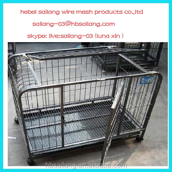 Anping factory wholesale large dog cage for sale cheap for Large dog cages for sale cheap