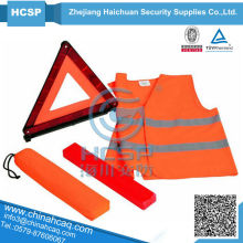 Reflective vest & Warning Triangle SetHC-V07+T01