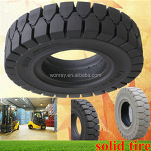 Top Sales Forklift Gomme Piene, Industrial Pneumatic SOLID Tires 6.00-9 With Low Price