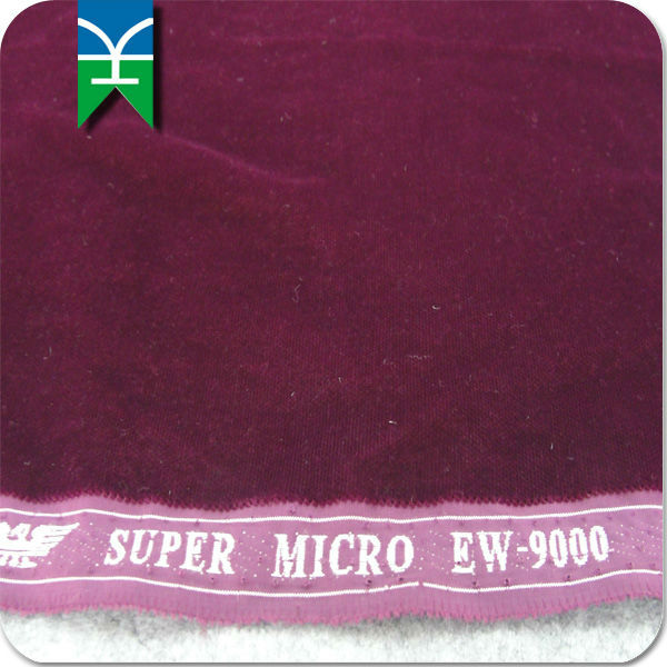 High Quality Micro Velvet 9000 Eagle Selvage