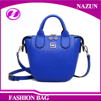 Made in china simple style handbag lady pu leather hand bag
