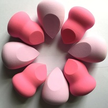 Wedding Return Gifts Wholesale Private Label Skin Care Makeup Puff Beauty Cosmetic Sponge, Calabash A beveling cut