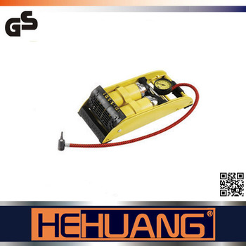 High pressure manual hydraulic foot air pump