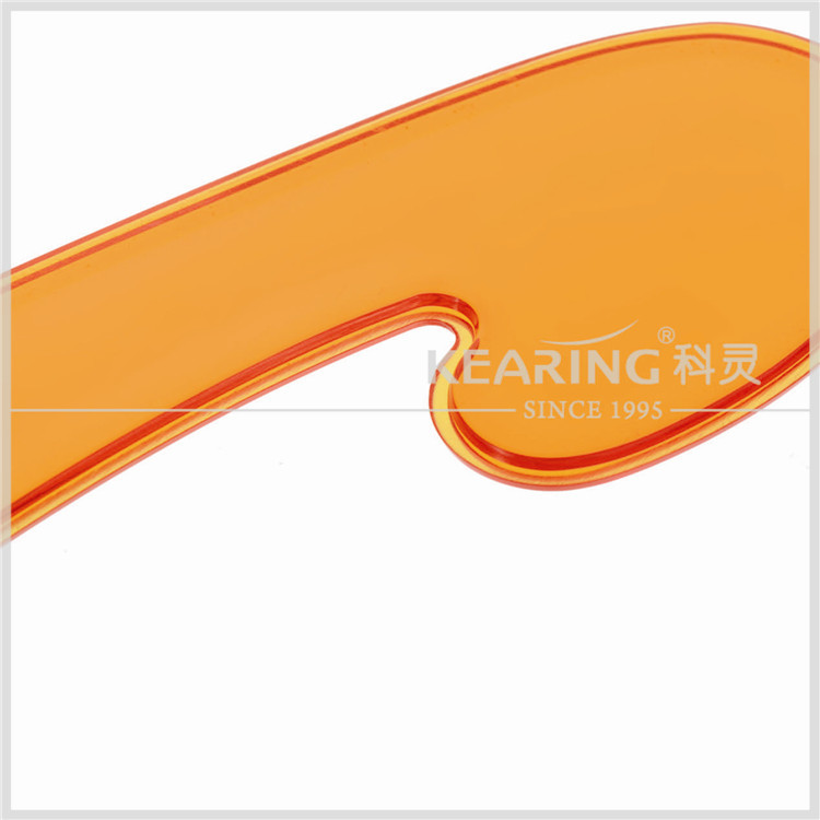 Kearing brand art &sewing transparent plastic transparent french curve ruler#1203s