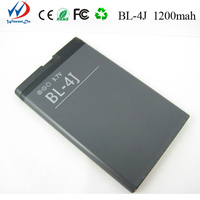 New High Quality cell phone Factory Price 1200mah bl-4j batteries mobile