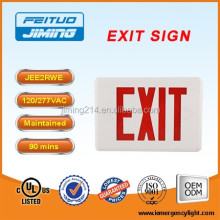 iemergencylight.com -UL&cUL Listed Emergency Lamp LED exit sign with arrow JEE2RWE -1703161706