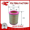 bus air filter used for hyundai County bus OEM NO.28130-5H000