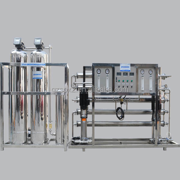 Sipuxin_2000L/H Full automatic Two stage water filter reverse osmosis system water purifier treatment