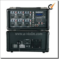 6 Channel Amplifier PA Mobile Power Professional Amplifier ( APM-0615U )