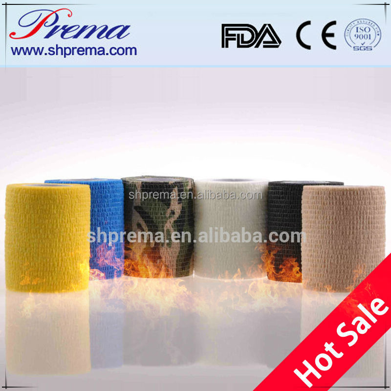 FDA/CE/ISO approved elastic ratio 2.2:1 bandages made in usa