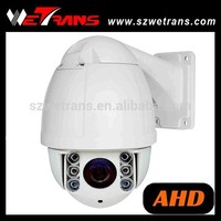 "Security Camera 4"" Indoor/Outdoor High Speed 90 Degree Tilt Rotation Speed UP to 200 Degree/s DC12V 2A Auto Tracking PTZ Camera"
