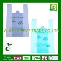 China supplier Biodegradable funny rose shopping bags