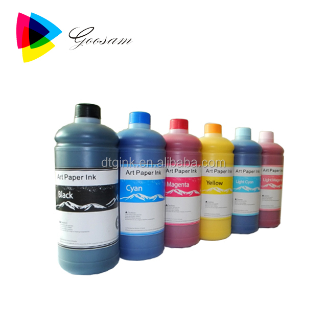 Hot sell inkjet art paper ink for Epson 7600 9600