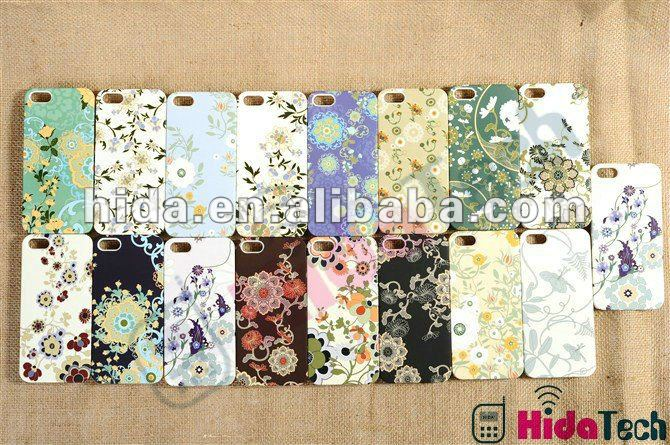 Flower Design FPlastics Hard Case for iPhone 5 5G, For iPhone 5 Hard Case for iPhone 5 5G