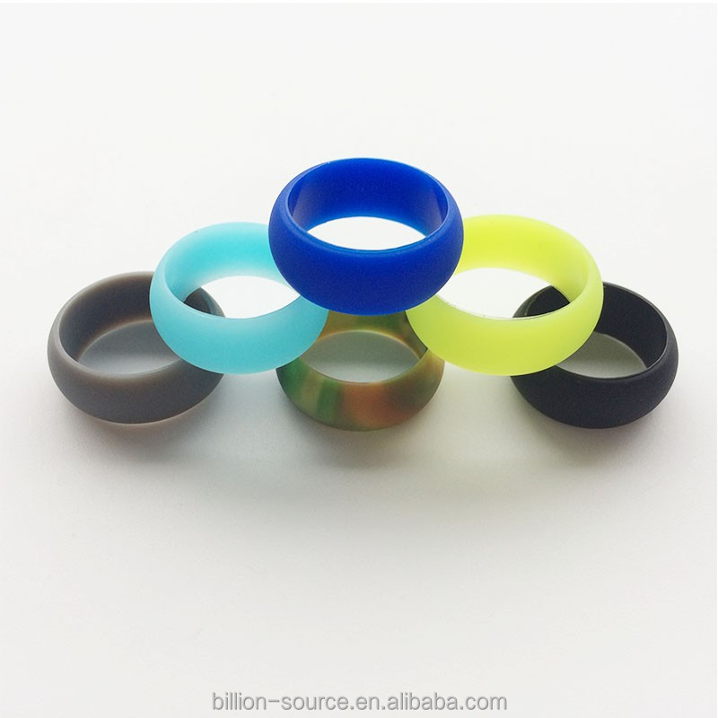 Finger ring band/ Chirstmas gifts mens silicon wedding ring for sport
