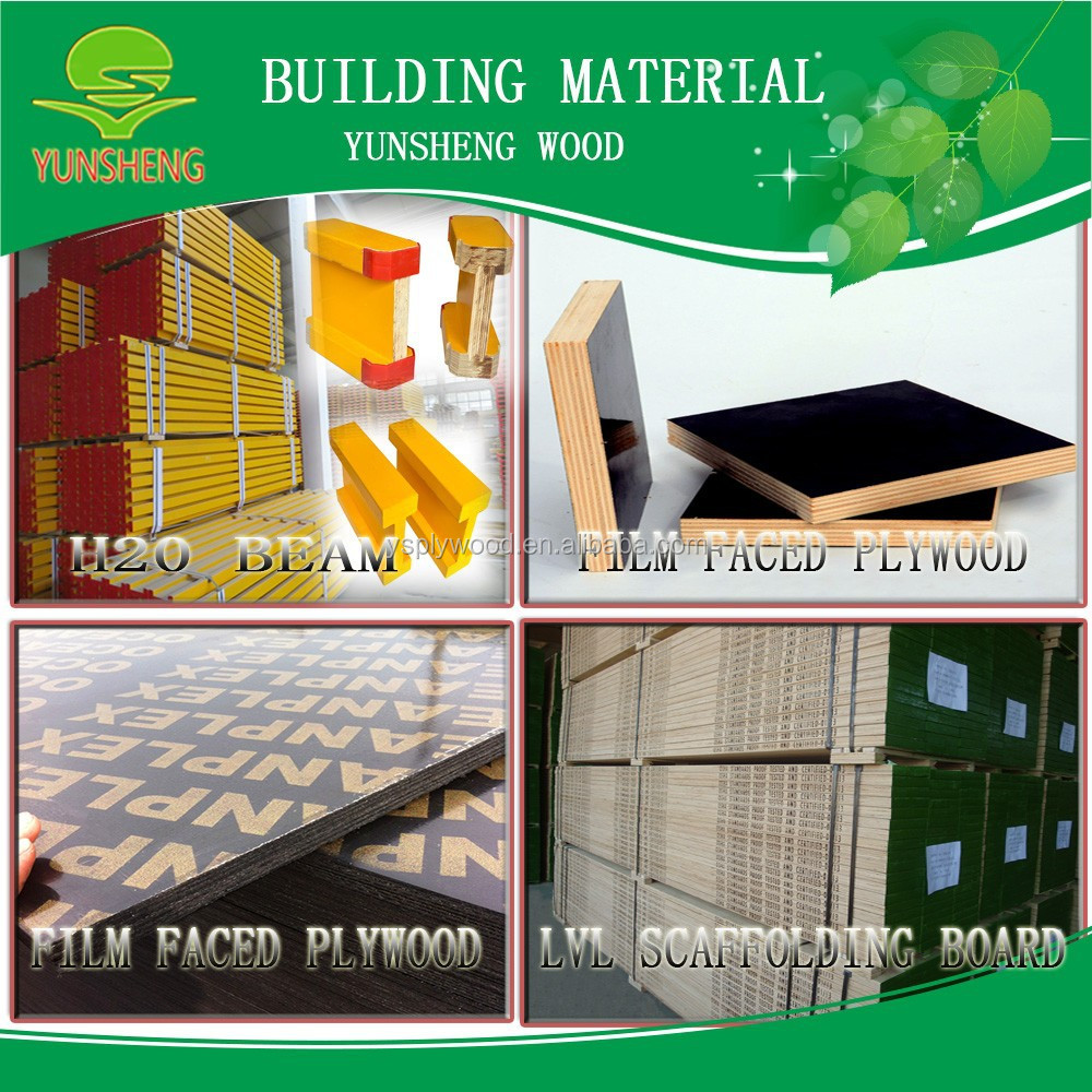 2016 china wholesale cheap poplar building material with for Cheap construction materials