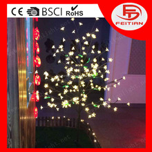 2016 led outdoor christmas lights waterproof led tree with ce rohs bsci