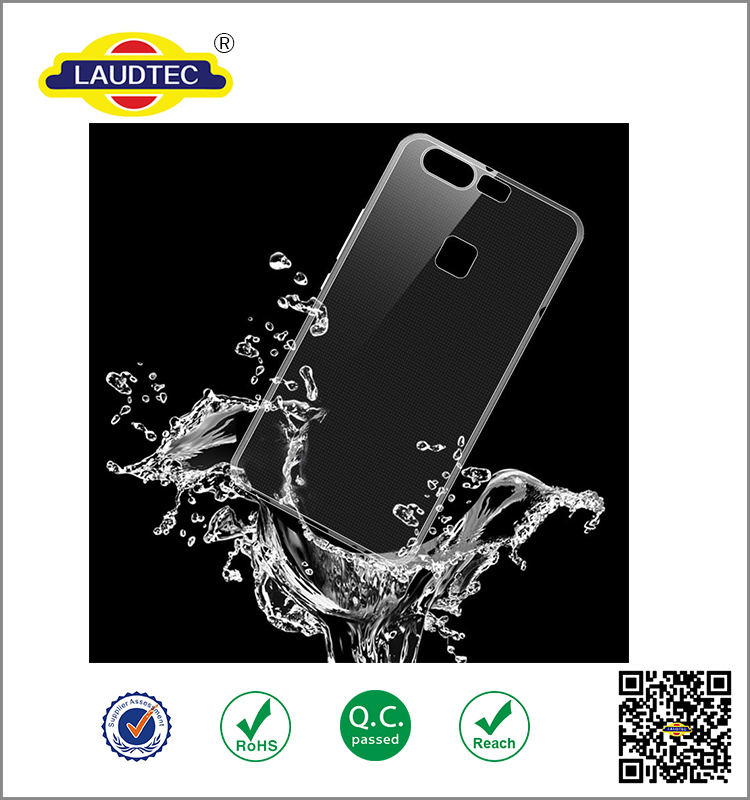 Transparent Crystal Ultra Thin Soft Silicone TPU Gel Case Cover For Huawei P9
