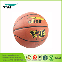 Official size and weight colorful laminated basketball