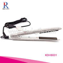 Unbeatable Price Fashional High End Rhinestone Studded Hair Stragitener Professional Flat Iron Hair Iron
