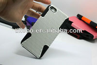 Hot sale silicone+pc mobile phone case for iphone5