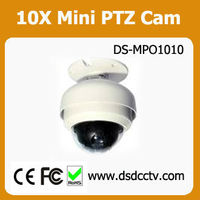 Outdoor CCTV 10X Mini PTZ Camera