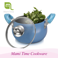 high-end design aluminum casserole hot pot
